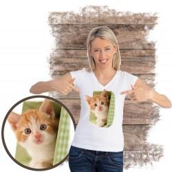 "Koszulka chłopięca z kotem ""Chantelle"""