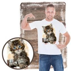 """Koszulka chłopięca z kotem """"Twin Pockets"""""""