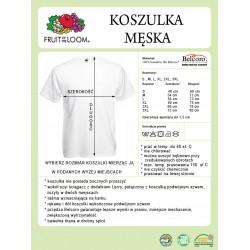 Koszulka męska - motyw wędkarski
