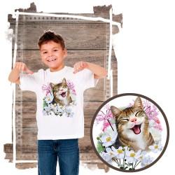 """Koszulka chłopięca z kotem """"SELFIE CAT 2"""""""