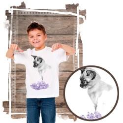 """Koszulka chłopięca z kotem """"SIAMESE"""""""