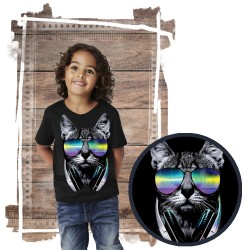 koszulka z kotem DJ CAT