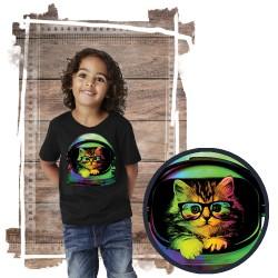 koszulka z kotem SPACE KITTEN