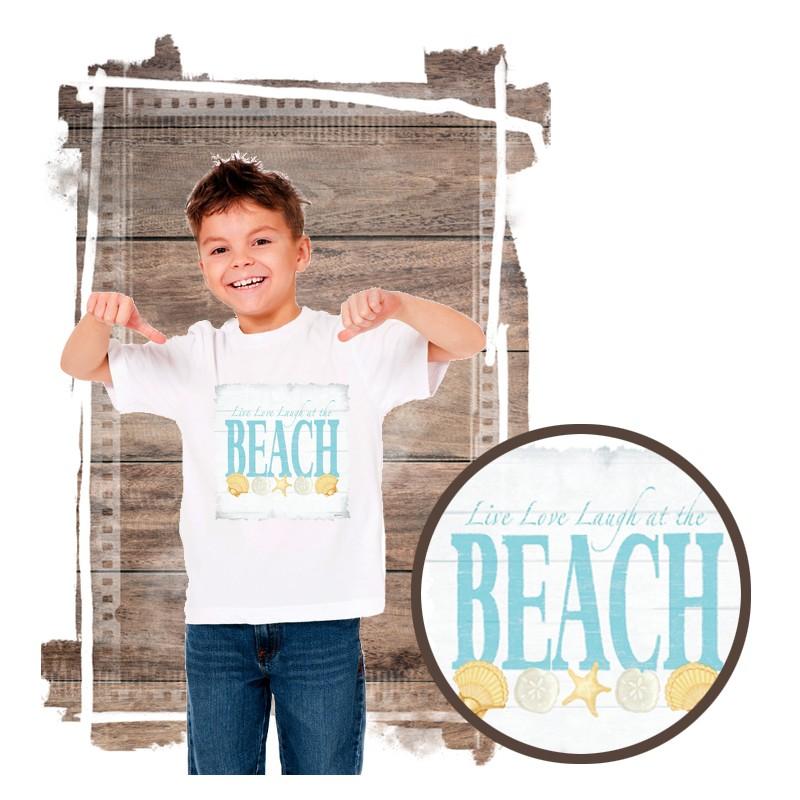"""Koszulka chłopięca motyw plaża  """"BEACH III"""""""