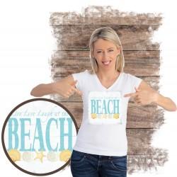 """Koszulka damska motyw plaża  """"BEACH III"""""""