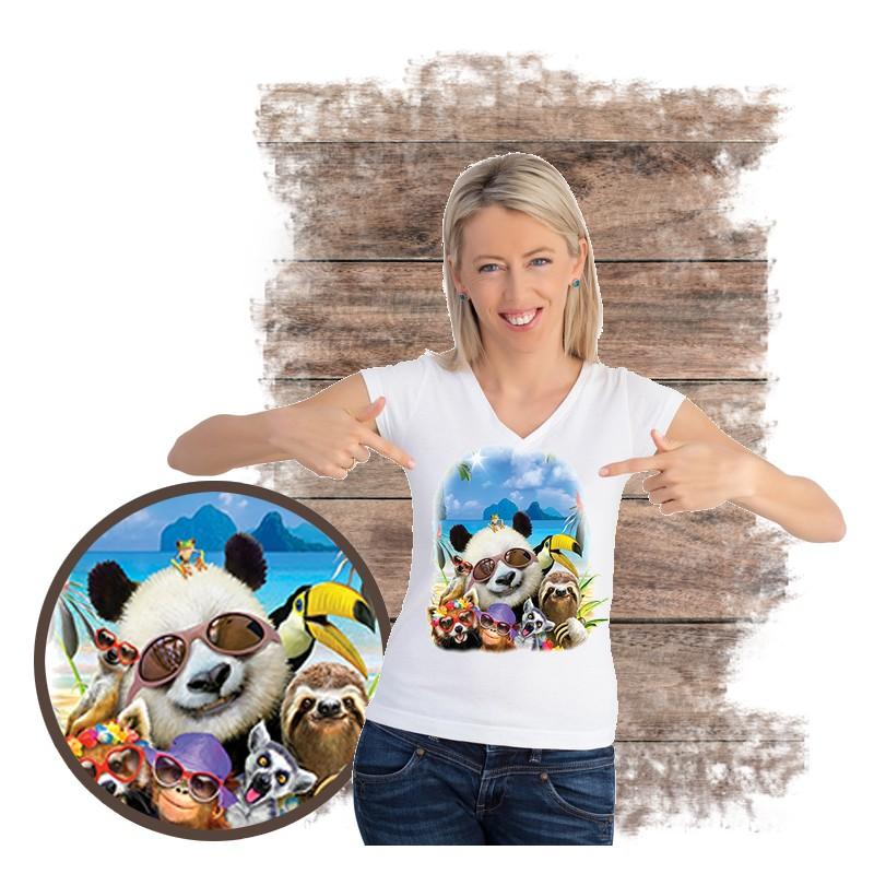 "Koszulka damska motyw plaża  ""EL NIDO BEACH"""