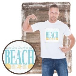 "Koszulka męska motyw plaża ""BEACH III"""