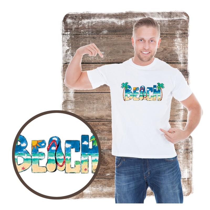 "Koszulka męska motyw plaża ""BEACH DAYTIME"""