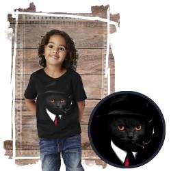 koszulka z kotem AGENT CAT