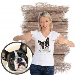 Koszulka damska z psem...