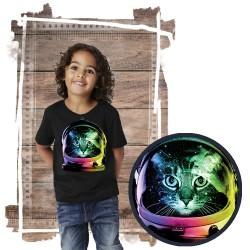 koszulka z kotem SPACE CAT