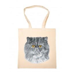 "Torba bawełniana ""kot perski"""