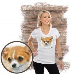 "Koszulka damska z psem ""chihuahua"""