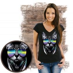 koszulka z kotem BLUE_EYES_BLACK_CAT