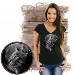 koszulka z kotem CAT MOON