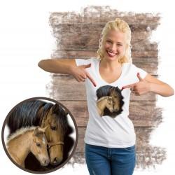 "Koszulka damska z koniem ""GENTLE TOUCH"""