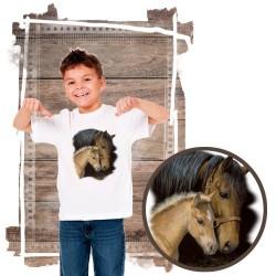 """Koszulka chłopięca z koniem """"GENTLE TOUCH"""""""