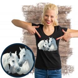 "Koszulka damska z koniem ""stable mates"""