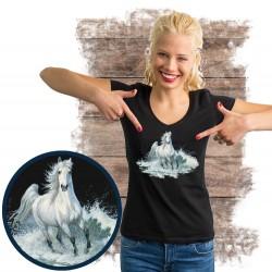 """Koszulka damska z koniem """"surf run"""""""