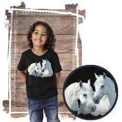 "Koszulka chłopięca z koniem ""Stable mates"""