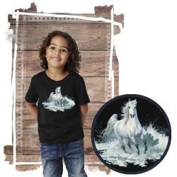 """Koszulka chłopięca z koniem """"surf run"""""""