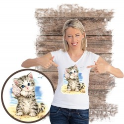 koszulka z kotem SEASHELL-KITTEN