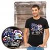 "Koszulka męska motocykl ""american pride"""