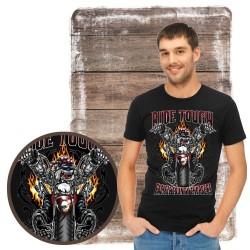 "Koszulka męska motocykl ""pacific country chopers"""