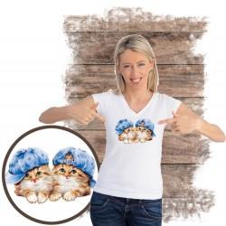 koszulka z kotem SUNFLOWER-BUDDIES