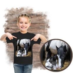 """Koszulka dziewczęca z koniem """"A Mother's Way"""