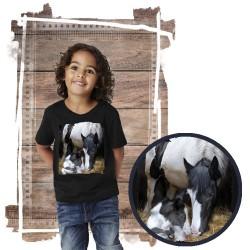 """Koszulka chłopięca z koniem """"A Mother's Way"""""""
