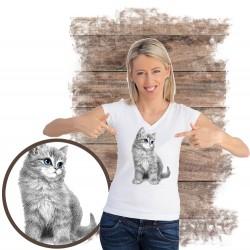 kopszulka z kotem COWBOY CAT
