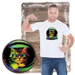 Koszulka męska z kotem...