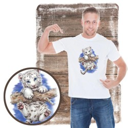 koszulka z kotem LITTLE-ADVENTURE