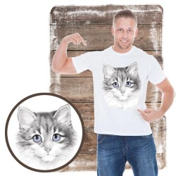 koszulka z kotem lavender_cat