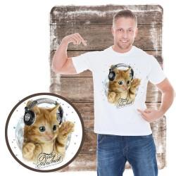 """koszulka z kotem PARTY ANIMAL RHINESTONES"""""""