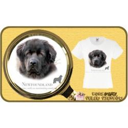 koszulka z psem nowofunland HR