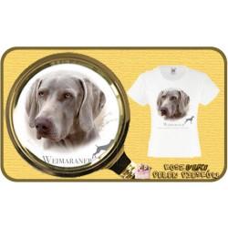 koszulka z psem owczarek weimarski HR