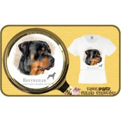 koszulka z psem rotweiler HR