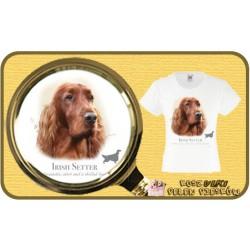 koszulka z psem seter irlandzki HR