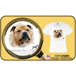 koszulka z psem stafordshire HR