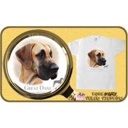 koszulka z psem rodezjan