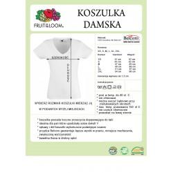rozmiar koszulek damskich