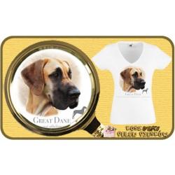 Koszulka damska z psem rodezjan