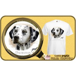 "Koszulka męska z psem ""dalmatyńczyk"""