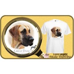 Koszulka męska z psem rodezjan