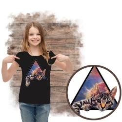 koszulka z kotem GALACTIC CAT