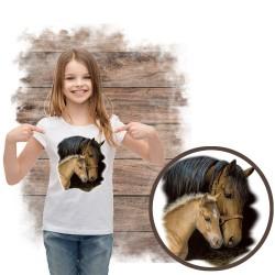 Koszulka dziewczęca z koniem GENTLE TOUCH