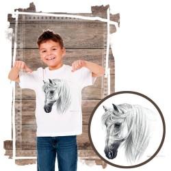Koszulka chłopięca z koniem TRANKO ANDALUSIAN