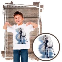 Koszulka chłopięca z koniem BEAUTY AND THE SEA